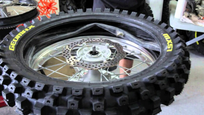 How to Change a Motorcycle Tire?