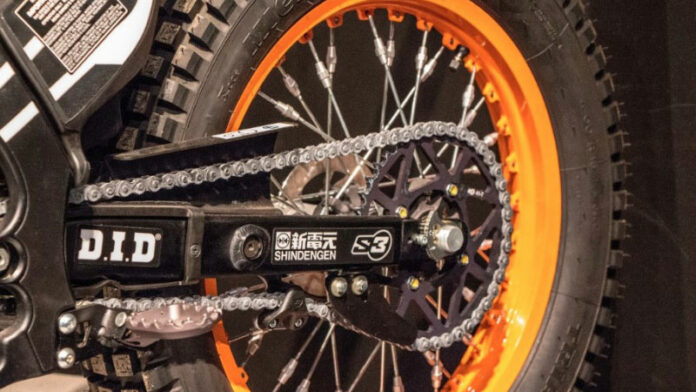 How to Clean a Motorcycle Chain?