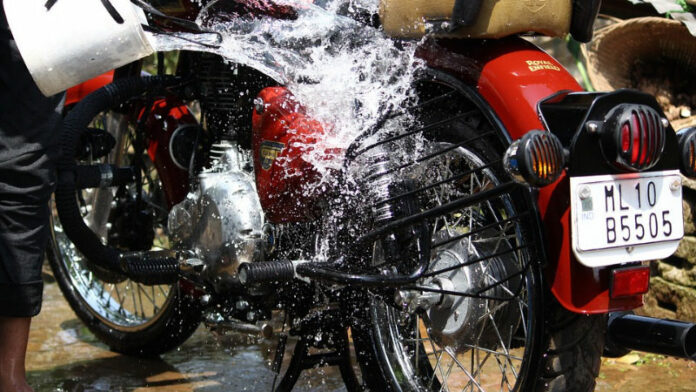 How to Wash a Motorcycle Properly