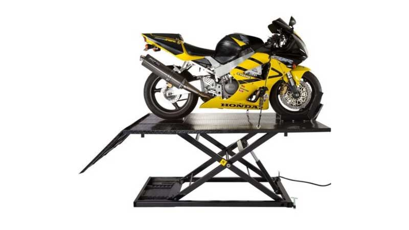 Best Motorcycle Lift Table Reviews