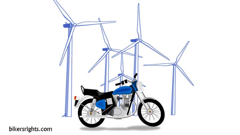 Using-wind-energy-to-Power-a-Motorcycle