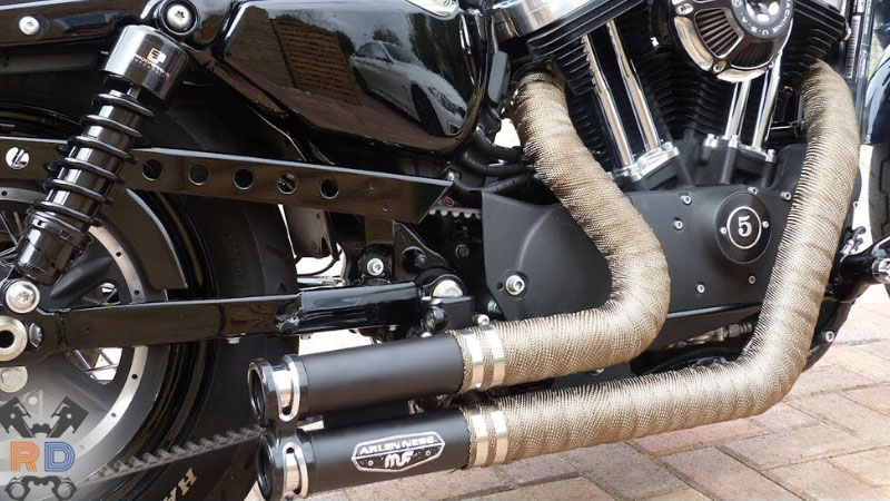 Best Motorcycle Exhaust Wrap