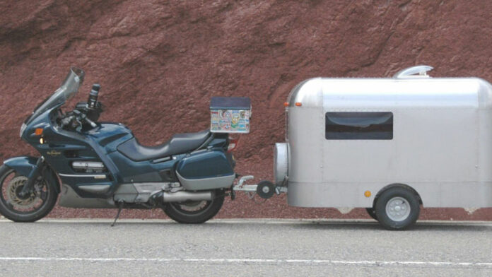 Is It Safe To Pull a Trailer Behind Your Motorcycle?