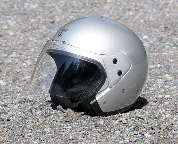 Open-face-helmet