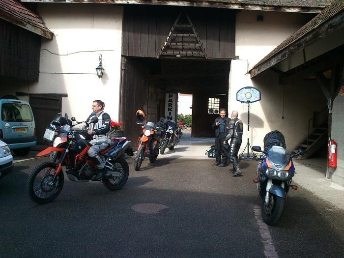 Three-Motorcycle-Garage