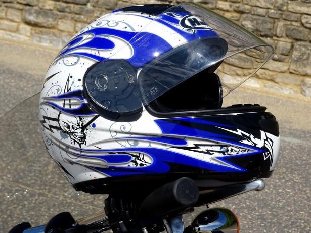 a-Motorcycle-Helmet