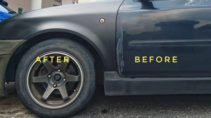 Paint-A-Car-with-Spray-Paint