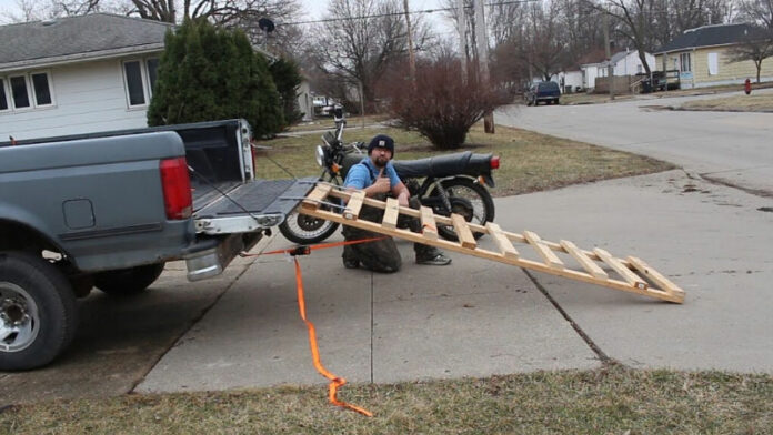 How To Build a Motorcycle Ramp Out of Wood?