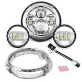 SUNPIE-Motorcycle-7-LED-Headlight
