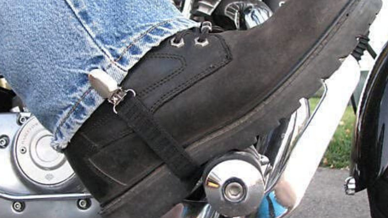 What Can Motorcycle Riders Do To Hold Pant Legs Down