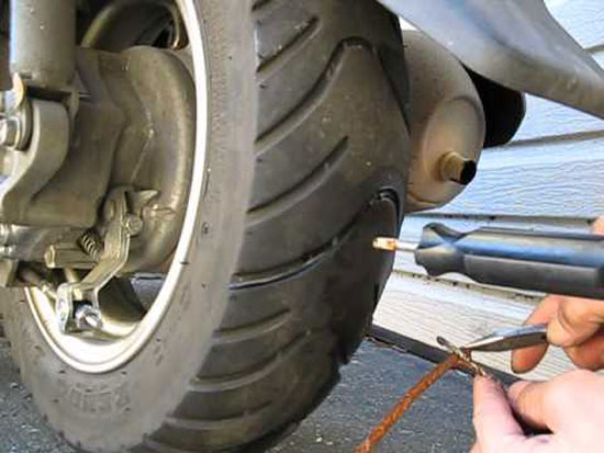 a-flat-tubeless-motorcycle-tire