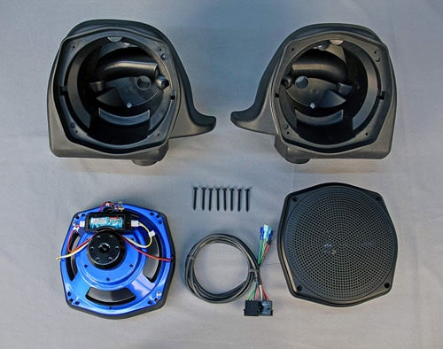 J&M Corporation Unisex-Adult Rokker Xx 7.25 Lower Fairing H-D Speaker Kit