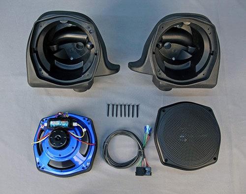 J&M Corporation Unisex-Adult Rokker Xx 7.25 Lower Fairing H-D Speaker Kit
