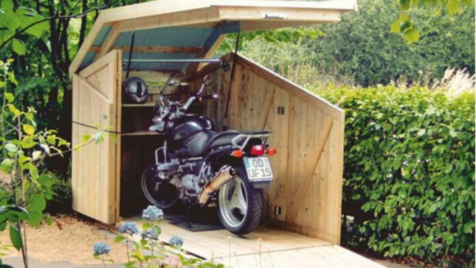 DIY Small Motorcycle Storage Sheds Ideas: How to Build One