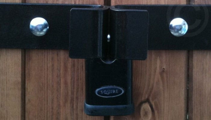 Motorcycle-Shed-lock