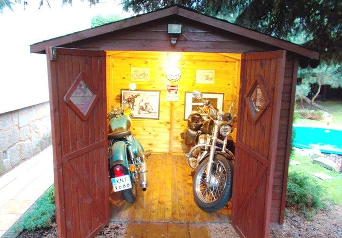 Motorcycle-Sheds
