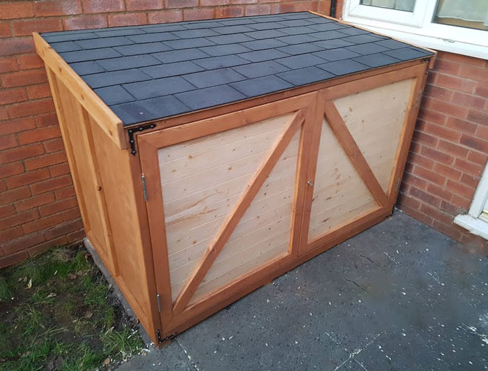 Small Motorcycle Storage Sheds