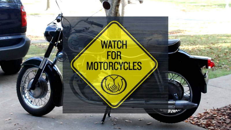 Allstate's Motorcycle Awareness Signs