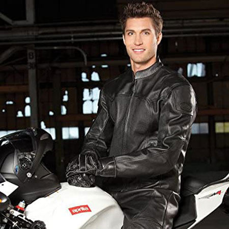 BILT Spirit Leather Motorcycle Jacket