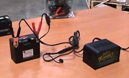 Charging Your Motorcycle Battery
