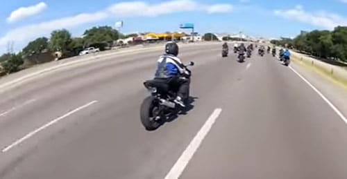Dallas Sport Biker Pulled Over For Helmet Camera