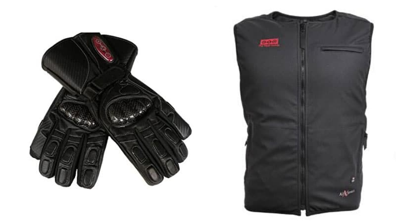 EXO2 Heated Motorcycle Gear Makes Winter Riding Enjoyable