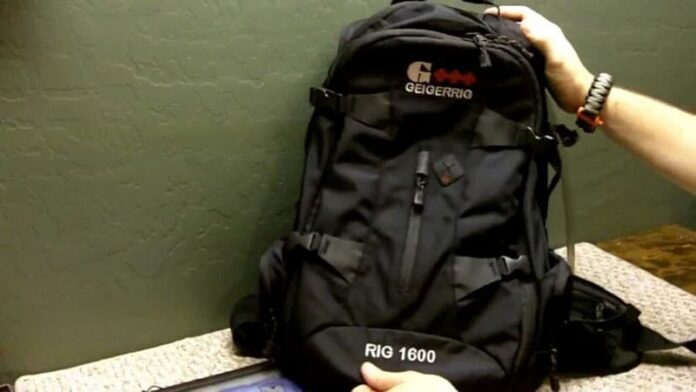First Impressions: Geigerrig Reinvents the Hydration Pack