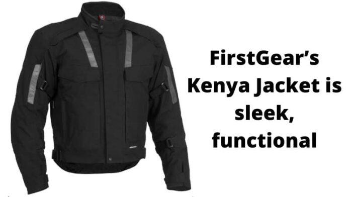 FirstGear's Kenya Jacket is sleek, functional