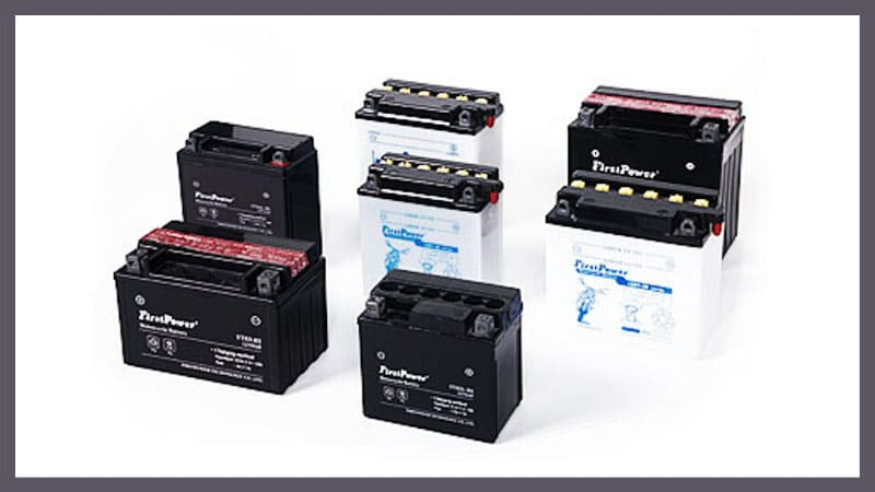 Motorcycle Battery Sizes