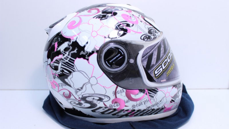 Scorpion EXO-700 Fiore Pink Helmet Review