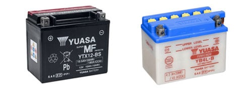 Types of Motorcycle Batteries