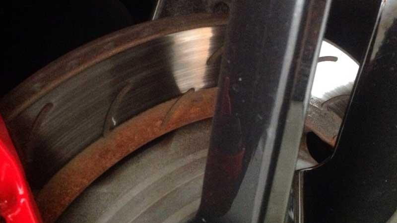 Uneven Brake Pad Wear