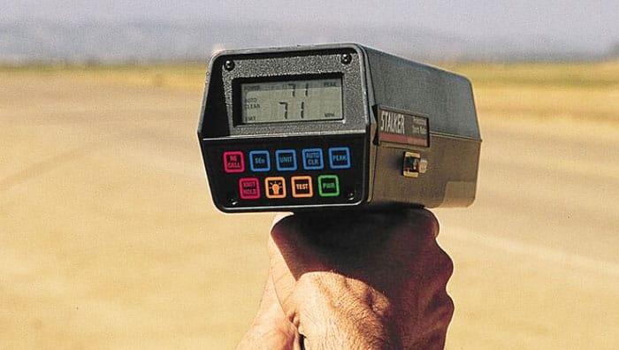A Radar Gun