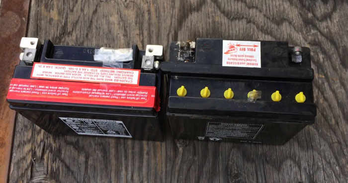 Motorcycle's Battery