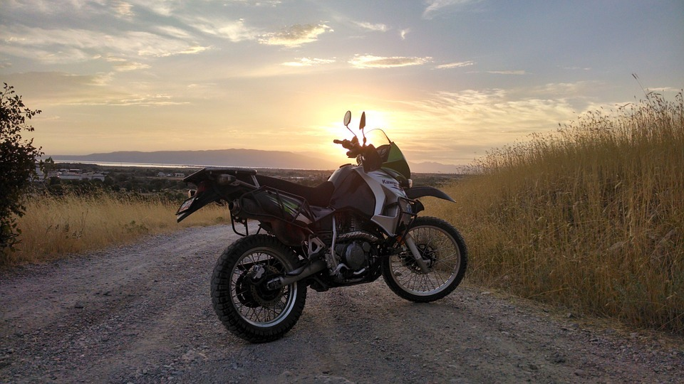 adventure dual sport motorcycle