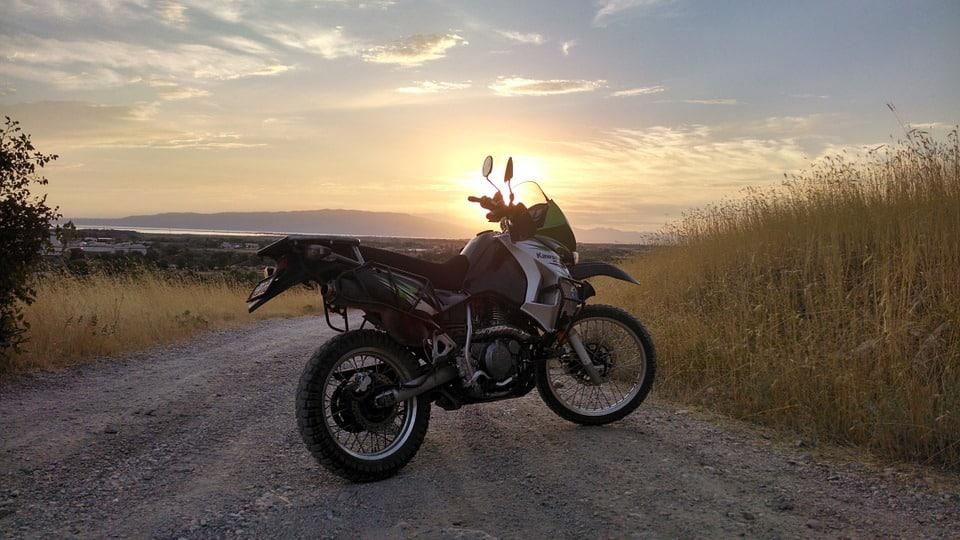 adventure dual sport motorcycle