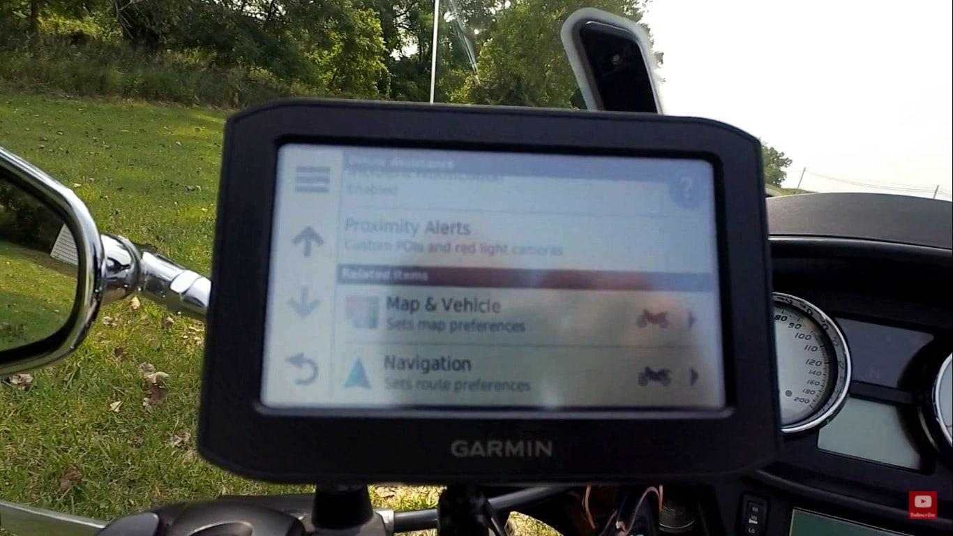 garmin motorcycle gps