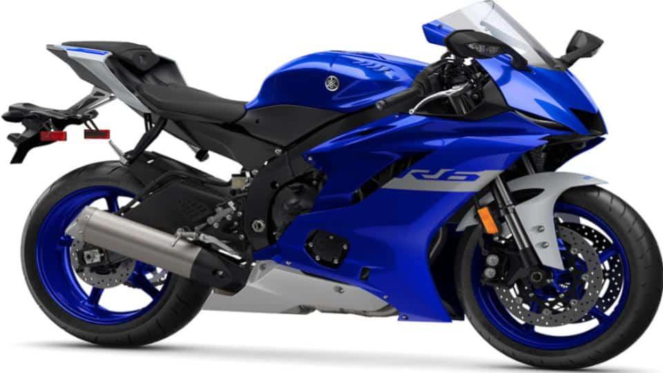 Yamaha YZF-R6 Supersport Motorcycle